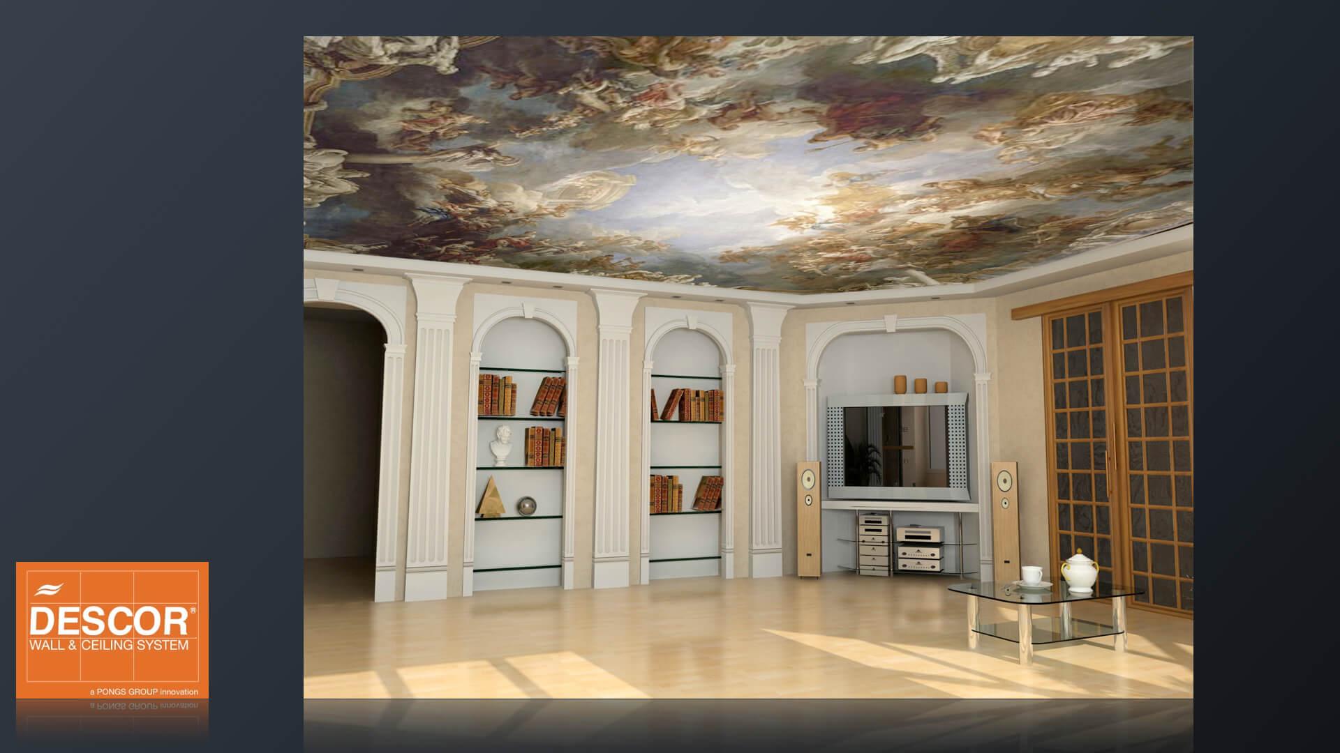 spanndecken spanndecken th ringen. Black Bedroom Furniture Sets. Home Design Ideas